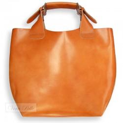 Skórzana shopper bag 2 w 1 Vera Pelle