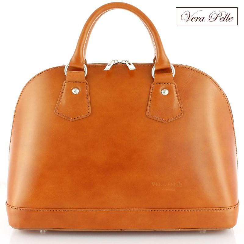 746682ce3ae49 Włoski skórzany kuferek Vera Pelle