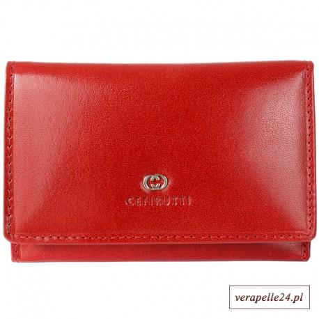 Klasyczny portfel damski w formie poziomej, CEFIRUTTI