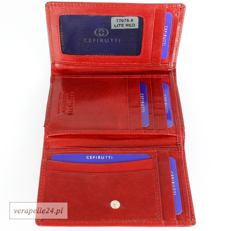 0a54b72601869 Klasyczny portfel damski w formie poziomej