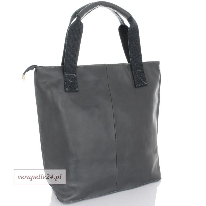 c3631d0b6b9ba Ponadczasowy duży shopper bag