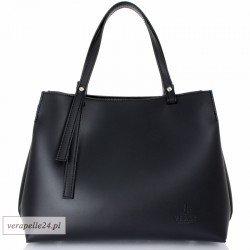 Nowoczesny kuferek damski VEZZE, kolor czarny